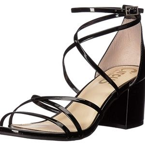 Sam Edelman Black Sheila Strappy Sandals NEW sz 10